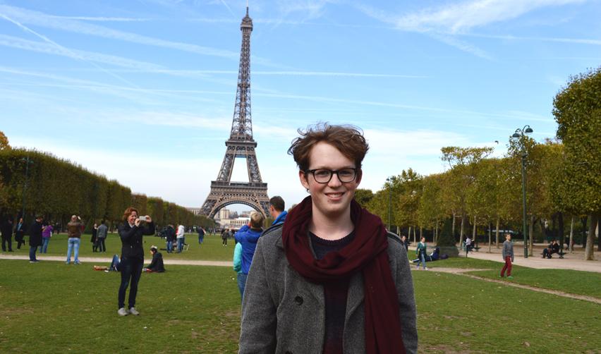 Lukas Hochscheidt in Paris