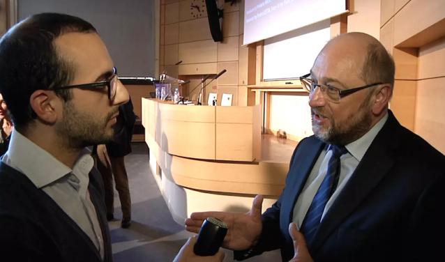 Martin Schulz at Sciences Po on April 2016