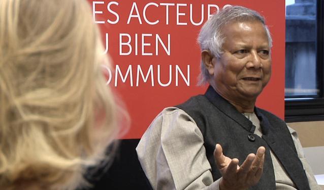 Nobel Prize Laureate Muhammad Yunus at Sciences Po