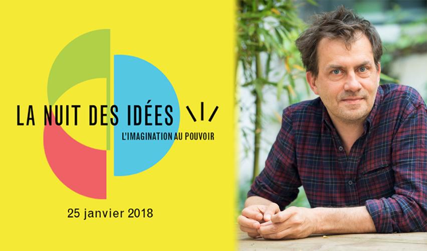 Dominique Cardon sera un des intervenants de la Nuit des idées à Sciences Po