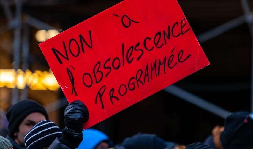 Activistes contre l'obsolescence