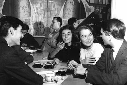Sciences Po students in 1961