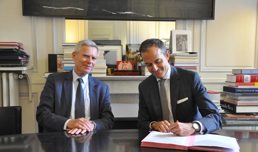Jacques Biot et Frédéric Mion