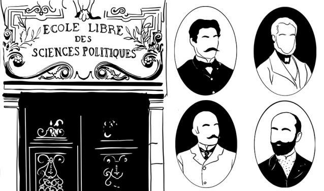Georges, André, Eugène, Francesco... Promo 1874