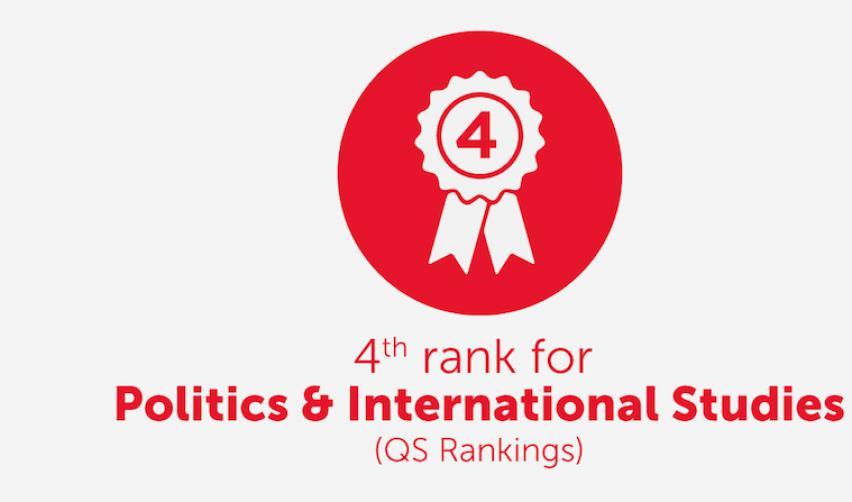 Sciences Po ranks fourth for politics & international studies (QS rankings)