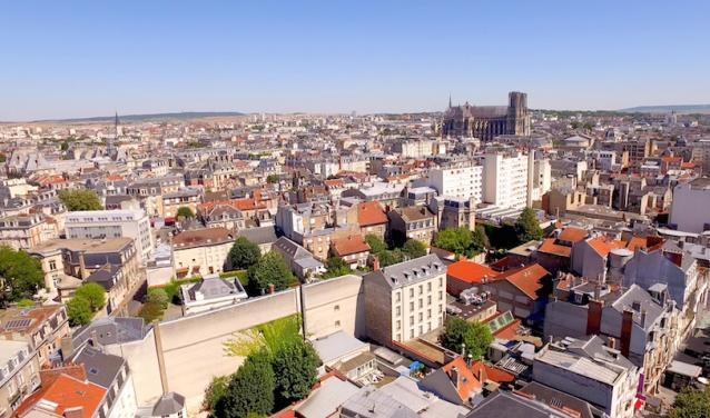 The city of Reims