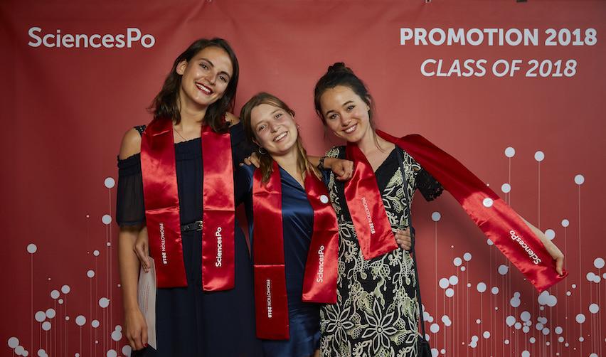 Diplômées de la promotion 2018