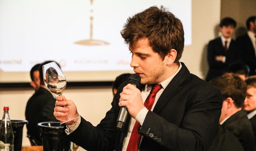 Robin Lenfant, un étudiant de l'équipe gagnante du concours (EM Lyon)