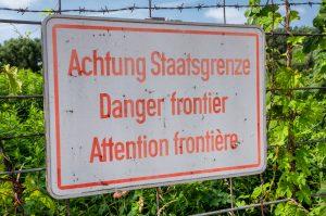 Old warning sign at the Austria/ Hungary border © Karl Allen Lugmayer/Shutterstock