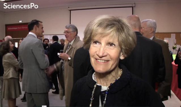 Dominique Gouteron Cendre, diplômée de Sciences Po et donatrice