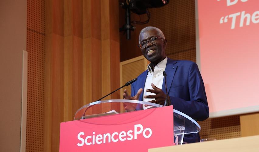 Souleymane Bachir Diagne en Amphithéâtre Emile Boutmy