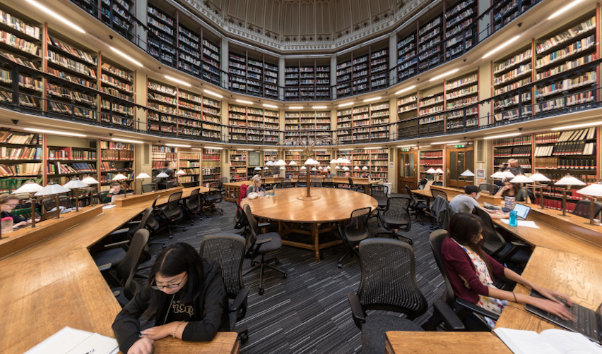 The Maughan Library round reading room - King's College London