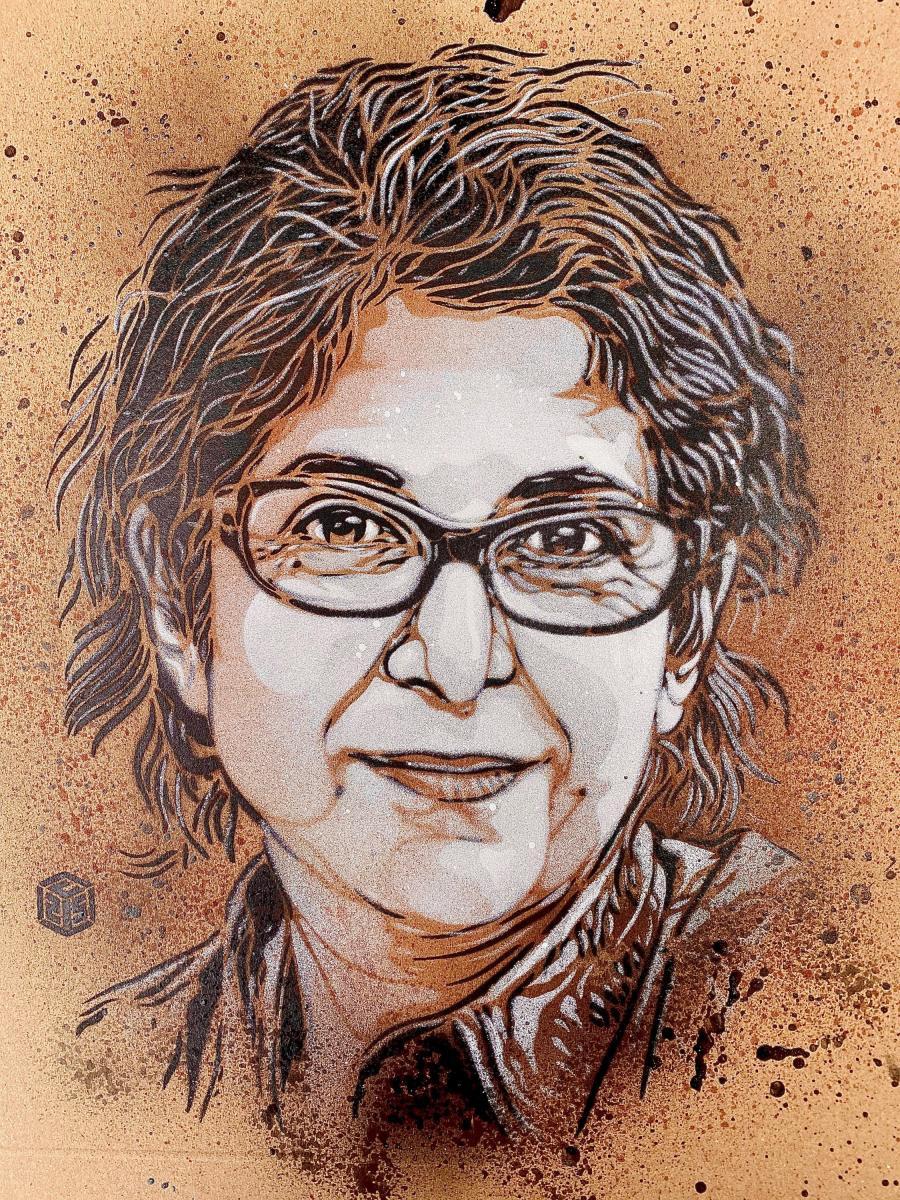 Portrait de Fariba par l'artisteC215