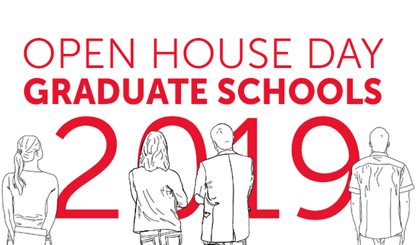 Open House Day, Graduate Schools 2019