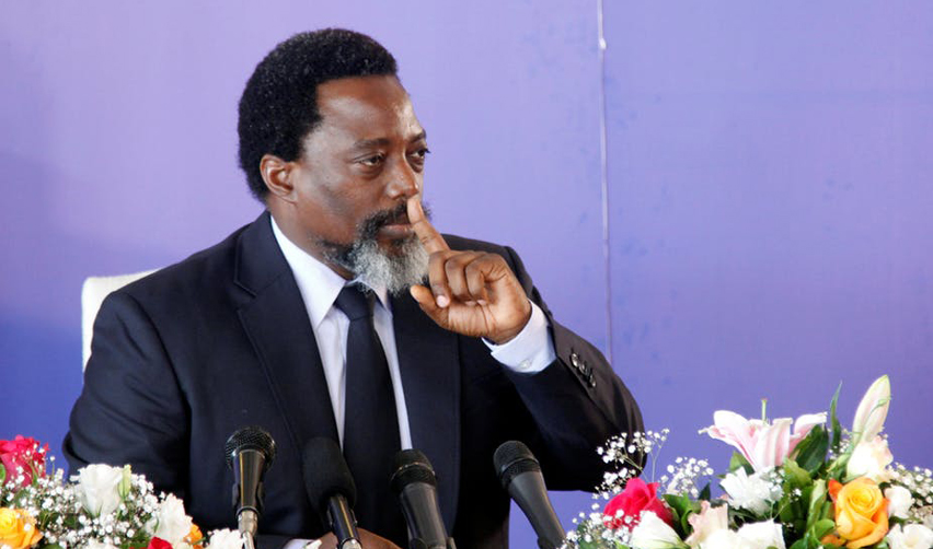 Democratic Republic of Congo's President Joseph Kabila.