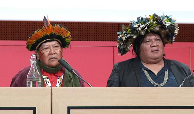 Amérindiens, leur combat pour la planète