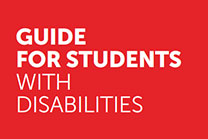 Guide for students with disabilities